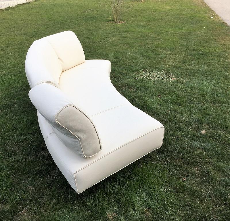 stega sofa ilion neu beziehen in leder. Black Bedroom Furniture Sets. Home Design Ideas