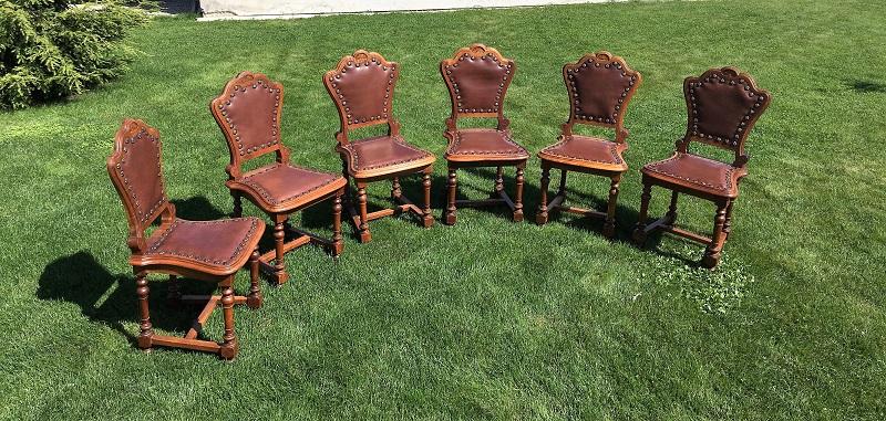 Sattlerleder Stühle Beziehen Barock Neu In 8Nny0vwOm