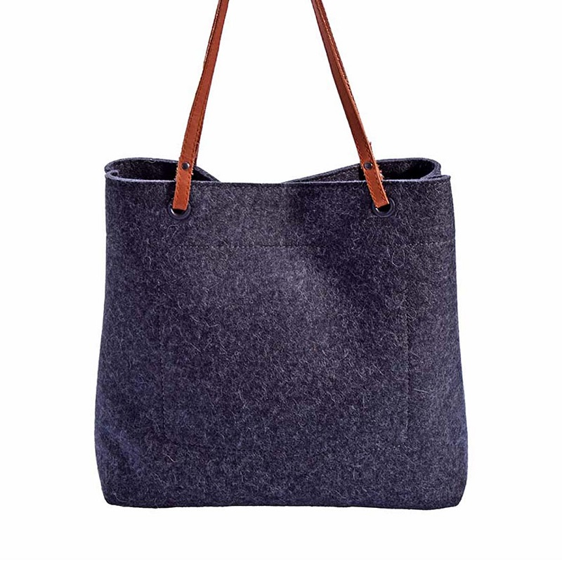 Shopper bag emilia merino wollfilz for Polsterei luzern